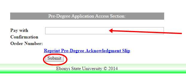 How to Register Ebonyi State University Pre-Degree Form Online