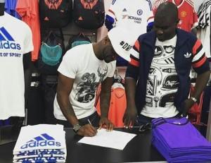 Peter Okoye becomes Adidas Ambassador
