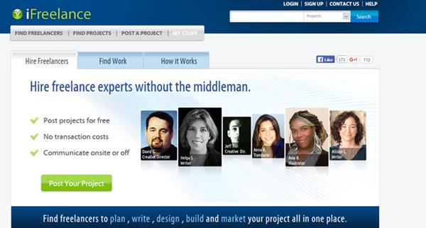 homepage image - iFreelance