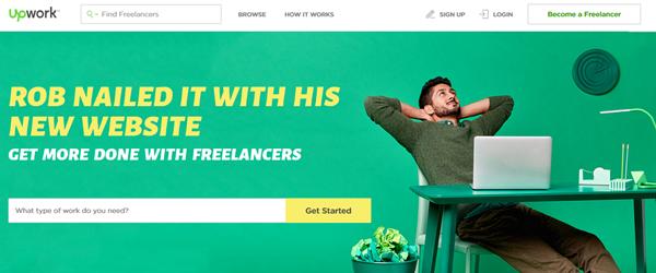 Homepage: upwork