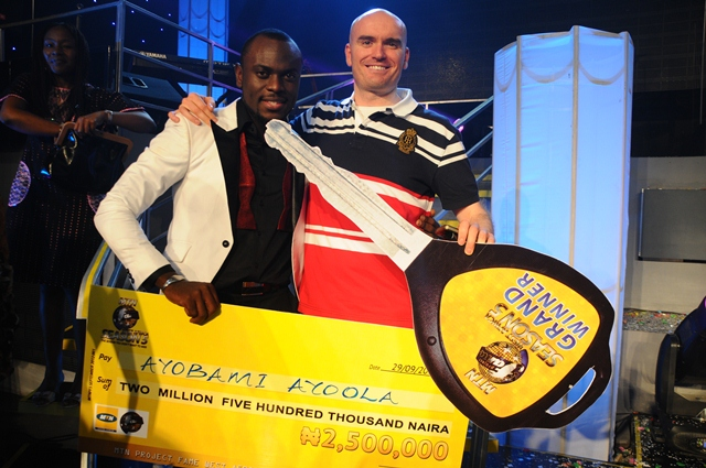 MTN Project Fame West Africa 2012 Winner - Ayoola