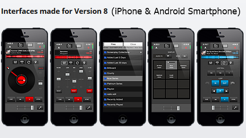 VirtualDJ Remote is an application for iPad