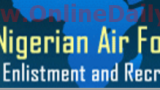 banner - Application for Nigerian Air Force 2016 Recruitment