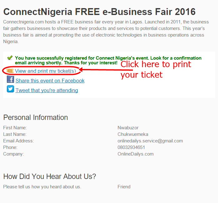 2016 Free e-Business Summit