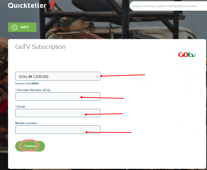 How To Subscribe for GOtv Channels Online - Image