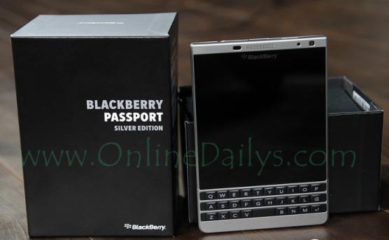 Picture of BlackBerry Passport Phone
