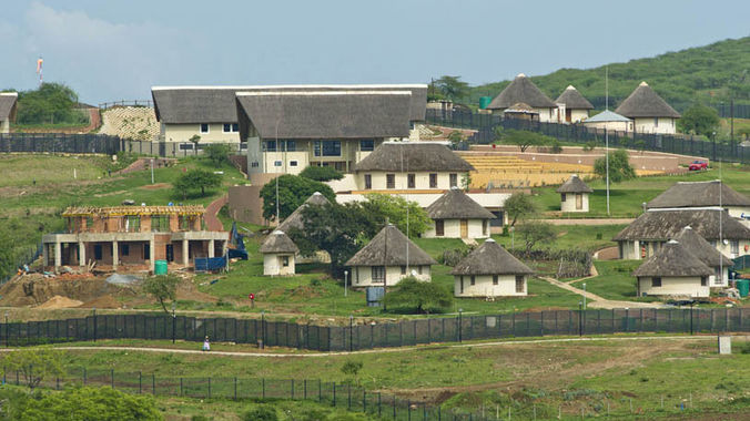 Picture of President Jacob Zuma's Nkandla for sale
