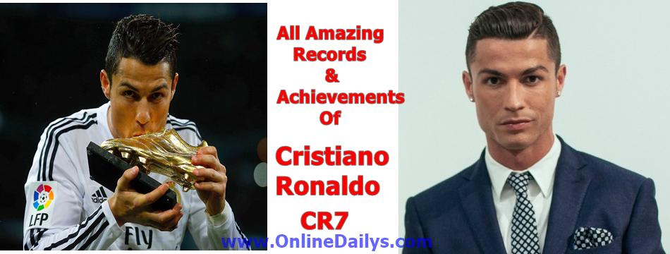 Ronaldo's All Time Records
