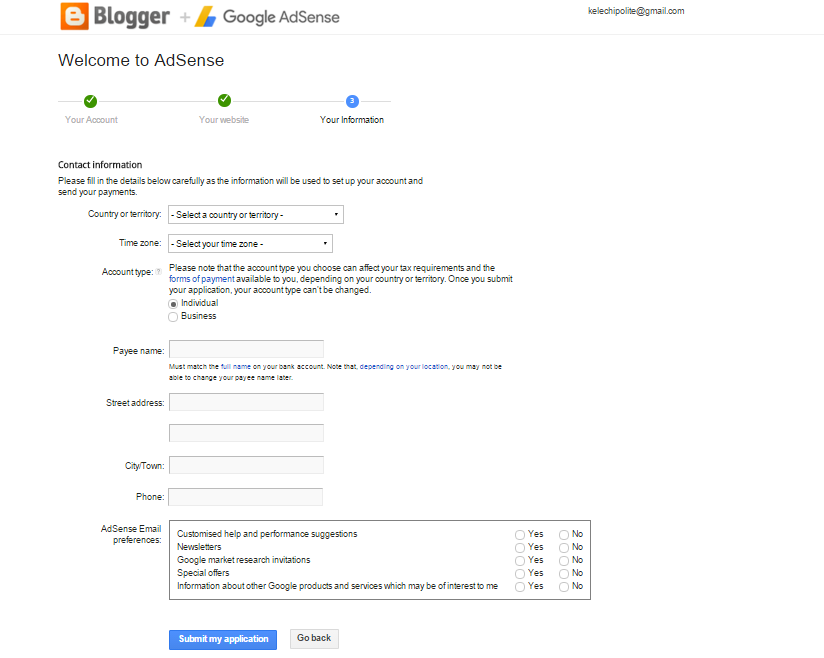 blogger sign up for ads 4