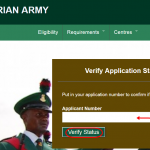 Nigerian Army 2016 Final List Of Successful Candidates Released