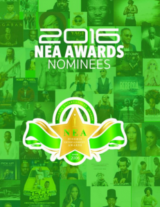 Nominees for 2016 Nigerian Entertainment Awards