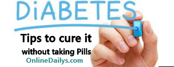 7 Cure Tips For Diabetes