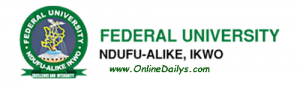 FUNAI Post UTME screening date
