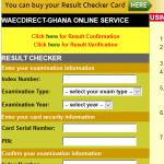 Ghana WAEC Result Checker Free Here – ghana.waecdirect.org