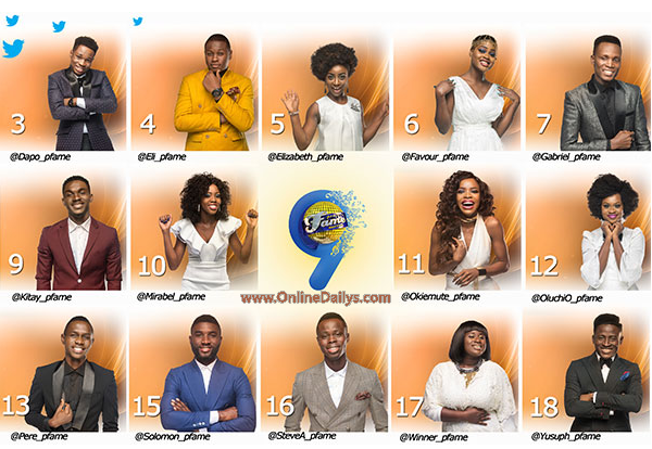 MTN Project Fame Season 9 Voting