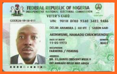 Nigeria Voters Card
