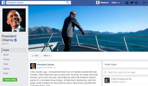 Send Obama a Facebook Message