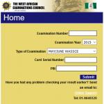 WAEC SSCE Result Checker 2016   www.waecdirect.org