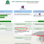www.jamb.org.ng Admission Status Free Checking on Mobile & PC