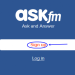 Ask.fm Registration