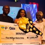 Winner of MTN Project Fame Season 9 is Okiemute Ighorodje