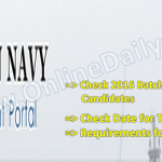 Nigerian Navy 2016 Batch 25 List Of Successful Candidates Released