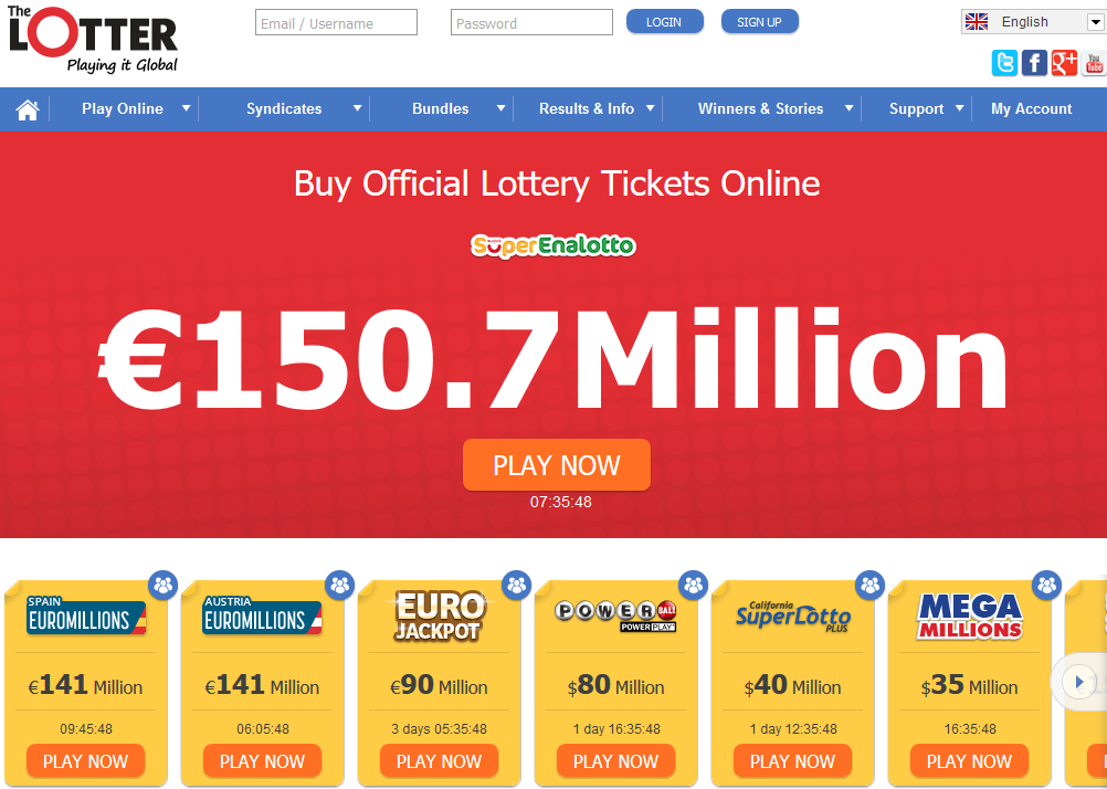 Internet Lotto