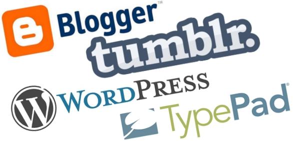 blogging logo