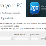 Log In 2go Account For PC | 2GO Sign In Account