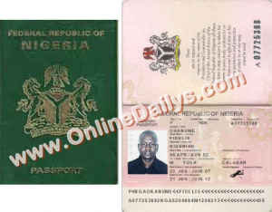 Apply for Nigeria International Passport