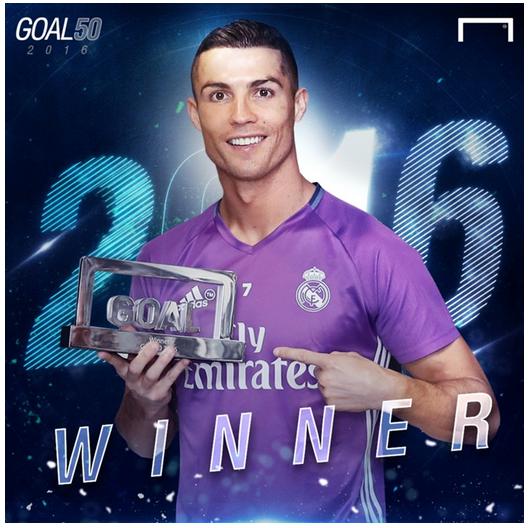 CR7 Goal 50 Awards 2016