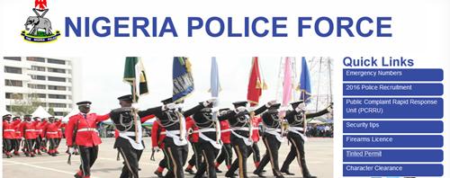 Logo - to Check Nigeria Police Recruitment