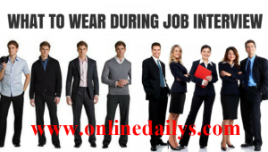 Dressing Tips For Interview Success