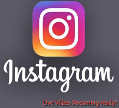 Logo: Live Video on Instagram