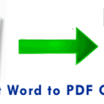 How To Convert Ms Word Document To PDF