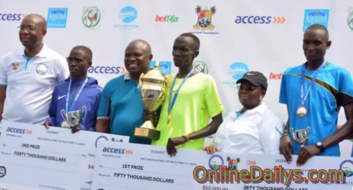 Access Bank Lagos City Marathon 2017 winners