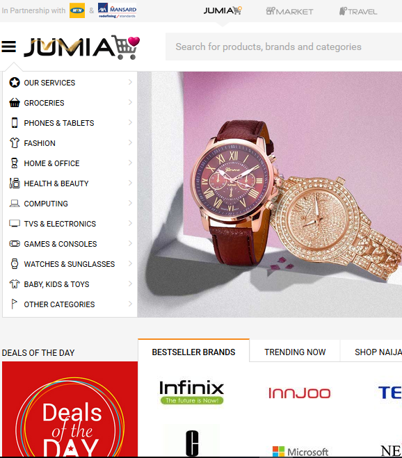 How to shop on Jumia