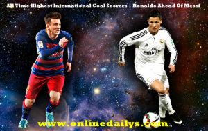 All Time Highest International Goal Scorers