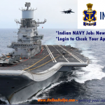 Indian NAVY Recruitment Portal Open | Signup for Indian NAVY Online – www.joinindiannavy.gov.in
