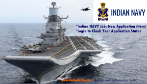 Logo: Indian NAVY Recruitment Portal