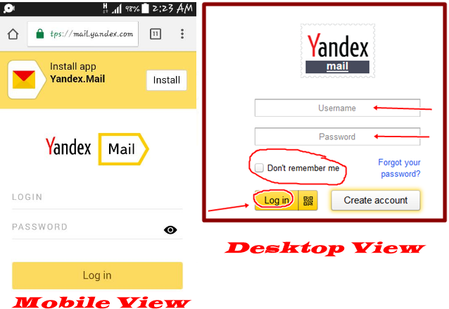 Login Yandex Account logo