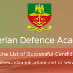 How To Check NDA Kaduna List of Successful Candidate Names Online
