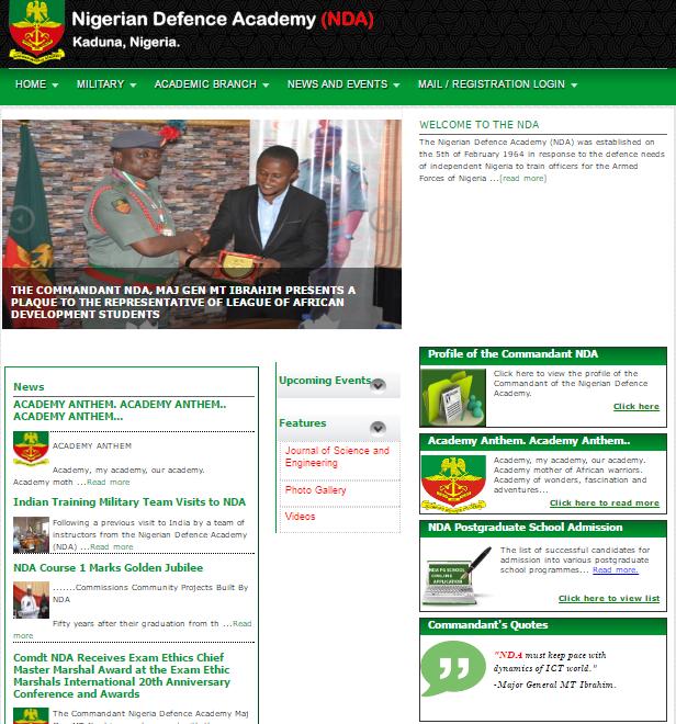 Page: NDA Websites