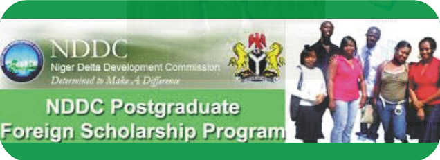 NDDC 2017 Post-Graduate Foreign Scholarship