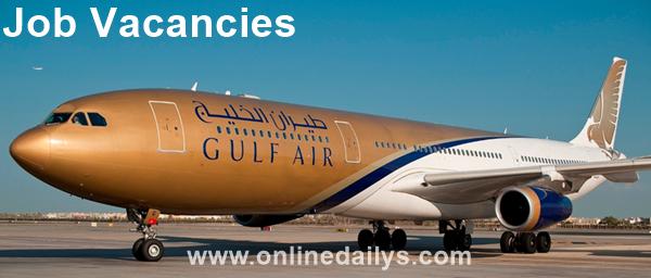 Apply For Gulf Air International Airline Job Vacancies
