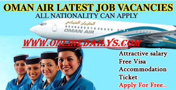Apply For Oman Air Airways Job Vacancies