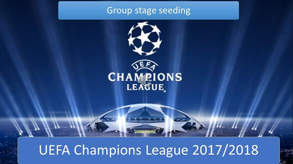 Champions League Draw: 2017/18 Champions League Group Stage Draw Update