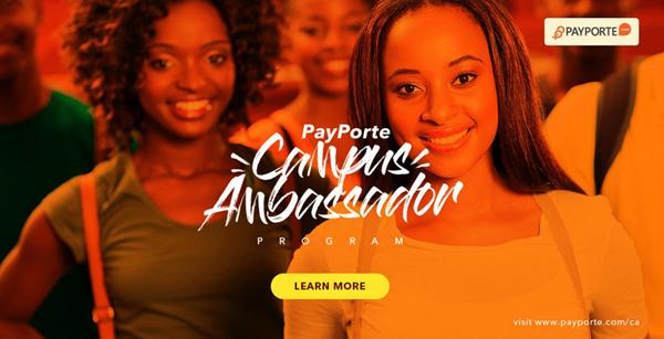 Apply Payporte Campus Ambassador Program 2017 | Payporte Scholarship Opportunity