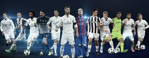 List Of UEFA Best Player in Europe Award Nominees 2017 – Buffon, Messi & Cristiano Ronaldo