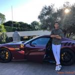 Cristiano Ronaldo's New Ferrari Sportscar Cost £340,000 – PHOTOS